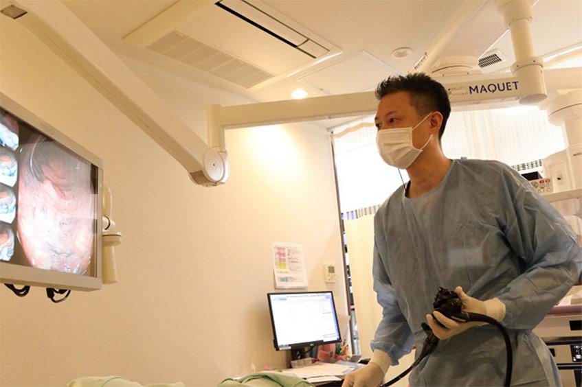 大阪で大腸内視鏡検査(大腸カメラ)ならにしやま消化器内科