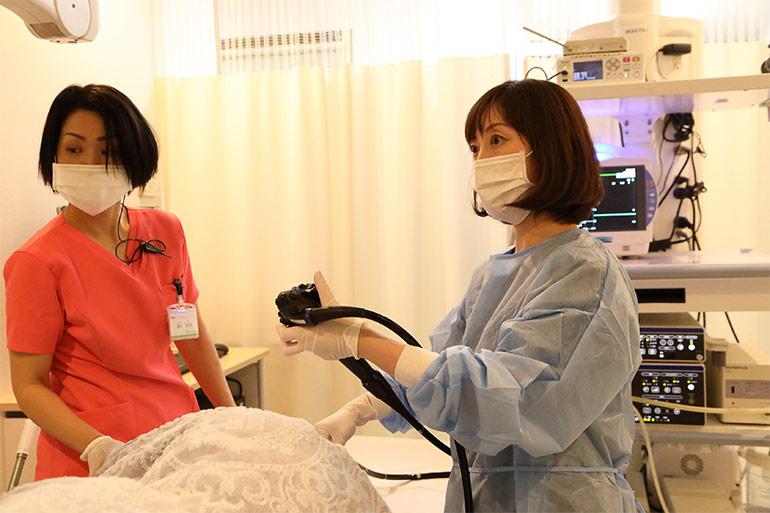 女性も安心、女医による大腸内視鏡検査(大腸カメラ)なら大阪のにしやま消化器内科