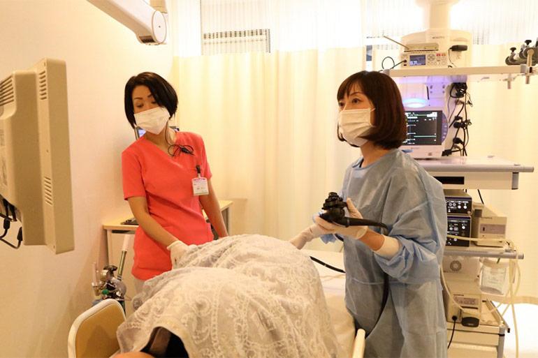 最短15分の大腸内視鏡検査ならにしやま消化器内科