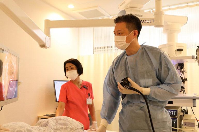最短15分の大腸内視鏡検査ならにしやま消化器内科2