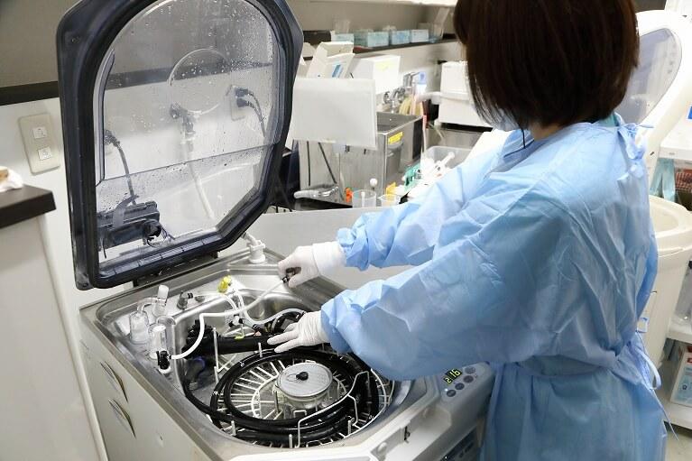 常勤の認定消化器内視鏡技師らによる管理